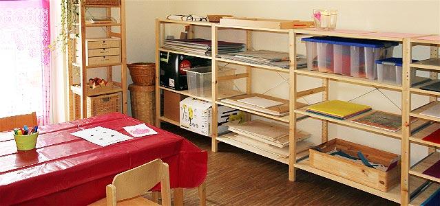 Pädagogischer Arbeitsraum